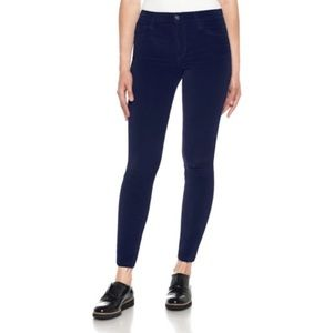Joe's Jeans Icon Velvet Ankle Skinny Pants 8894
